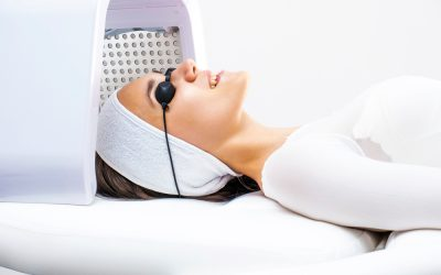 Skin peel + light therapy = a serious skin glow-up